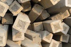 Colonna del cemento immagini stock libere da diritti