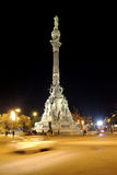 Colonna del Christopher Columbus Immagini Stock Libere da Diritti
