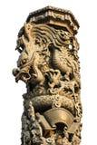 Colonna del drago Immagine Stock Libera da Diritti