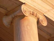 Colonna del memoriale del Jefferson Fotografia Stock Libera da Diritti