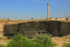 Colonna del Pompey fotografie stock libere da diritti