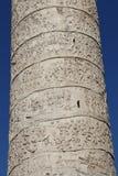 Colonna del ` s di Traiano fotografie stock libere da diritti