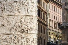 Colonna del Trajan fotografia stock libera da diritti