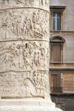 Colonna del Trajan fotografie stock libere da diritti