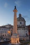 Colonna del Trajan Immagine Stock Libera da Diritti