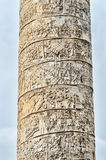 Colonna del Trajan a Roma, Italia Fotografia Stock