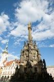 Colonna della trinità santa - Olomouc - la repubblica Ceca immagine stock libera da diritti