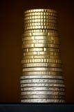 Colonna delle monete Immagini Stock Libere da Diritti