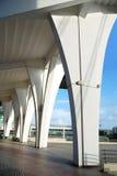 Colonna dello stadio fotografie stock libere da diritti