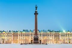 Colonna di Alexander e l'eremo fotografia stock libera da diritti