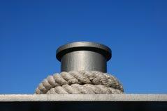 Colonna di ormeggio Fotografia Stock