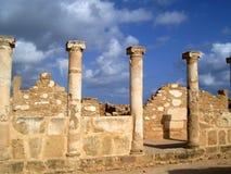 colonna di paphos Fotografie Stock Libere da Diritti