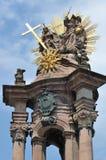 Colonna di peste della trinità santa Fotografia Stock Libera da Diritti