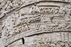 Colonna di Traiano, Roma Immagini Stock