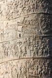 Colonna di Trajan fotografie stock libere da diritti