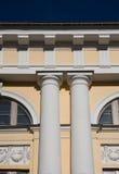 Colonna di un palazzo a St Petersburg Immagini Stock Libere da Diritti