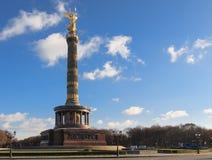 Colonna di vittoria, Berlino Fotografie Stock
