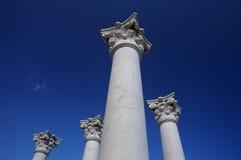 Colonna greca Fotografia Stock