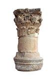Colonna greca isolata Fotografia Stock