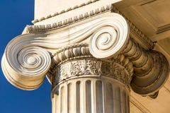 Colonna ionica Fotografie Stock