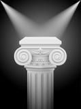 Colonna ionica Fotografie Stock Libere da Diritti