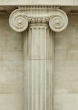 Colonna ionica fotografia stock