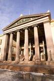 Colonna ionica greca Fotografie Stock Libere da Diritti