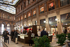 Colonna Kunst-Galerie, Rom Stockfotos