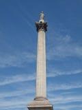 Colonna Londra del Nelson Fotografia Stock Libera da Diritti
