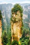 Colonna naturale dell'arenaria del quarzo la montagna di hallelujah dell'avatar fotografia stock