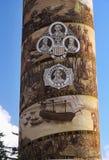 Colonna Oregon Stati Uniti di Astoria Fotografia Stock Libera da Diritti