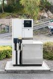Colonna per combustibile diesel fotografia stock