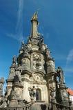 Colonna (pestilential) della trinità santa in Olomouc Fotografia Stock Libera da Diritti