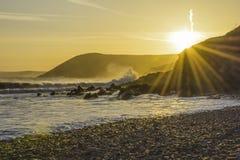 Colonna Regno Unito di Sun fotografia stock