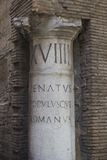 Colonna romana Immagini Stock