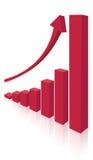 Colonna rossa Fotografia Stock Libera da Diritti