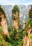 Colonna scenica dell'arenaria del quarzo la montagna di hallelujah dell'avatar fotografia stock libera da diritti