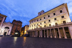 Colonna Square in Rome Royalty Free Stock Image