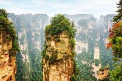 Colonna stupefacente dell'arenaria del quarzo la montagna di hallelujah dell'avatar fotografie stock libere da diritti