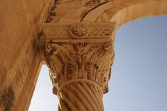 Colonna sulla basilica della trasfigurazione, supporto Tabor fotografia stock libera da diritti
