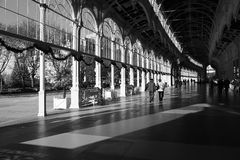 Colonnace Marianske Lazne fotografia stock