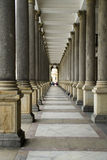 Colonnade à Carlsbad Images libres de droits