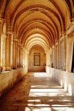 Colonnade à l'église de Pater Noster photographie stock