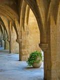 Colonnade Royalty-vrije Stock Afbeelding