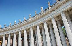 Colonnade. Royalty Free Stock Images