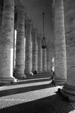 Colonnade Royalty-vrije Stock Foto