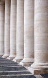 Colonnade stock afbeelding