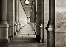 Colonnade Stock Photo