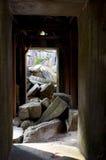Colonnade Ankor Wat Royaltyfria Bilder