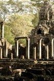 Colonnade Ankor Wat Arkivbilder